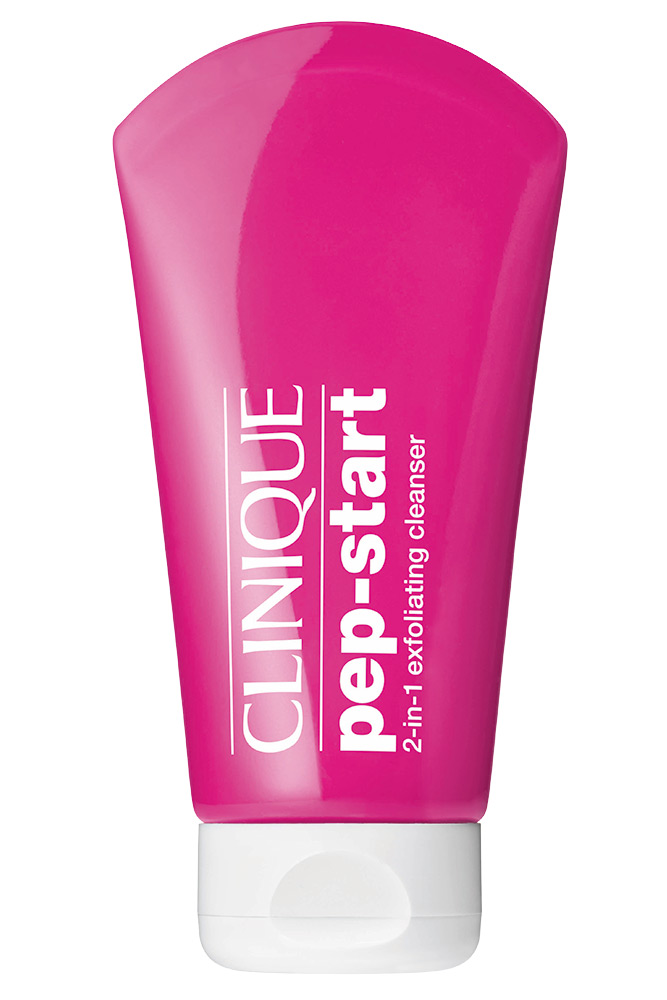 Clinique Pep Start 2 in 1 Exfoliating Cleanser