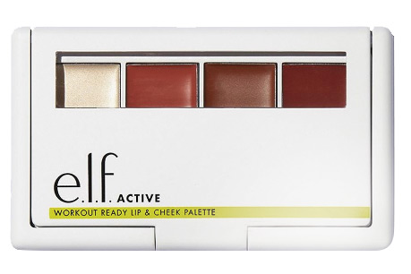 elf Active Workout Ready Lip and Cheek Palette