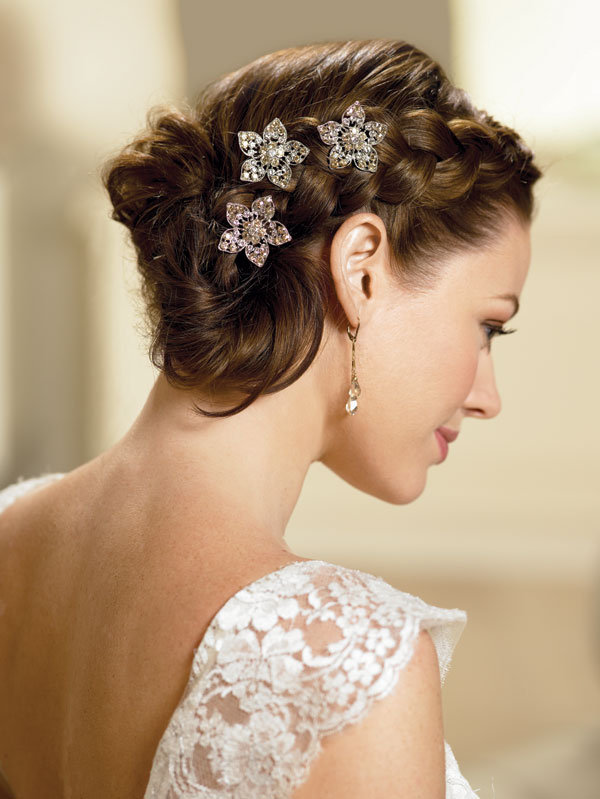 Updo Hairstyles For Weddings for Long Hiar with Veil Half Up 2013 ...
