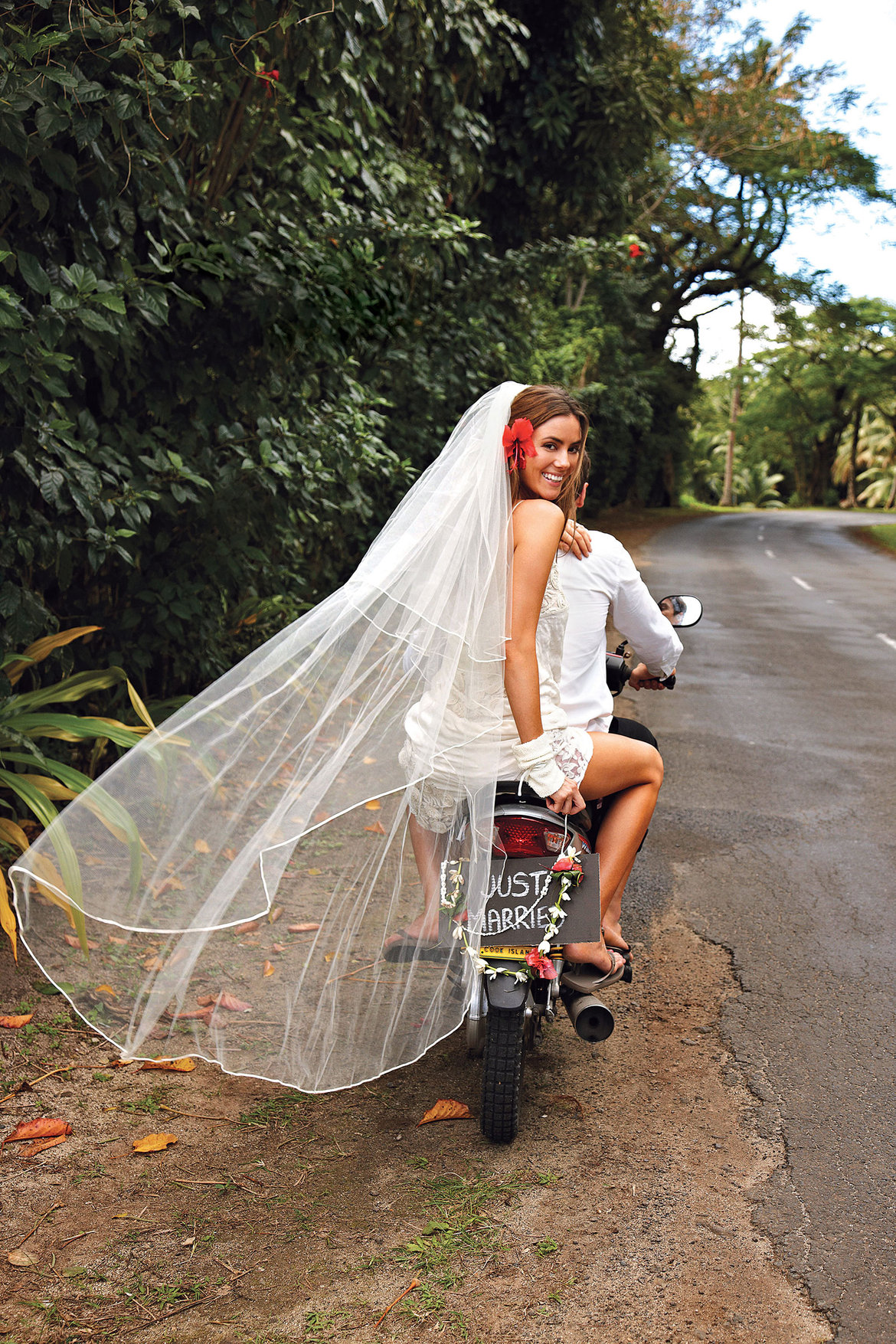 just married bike