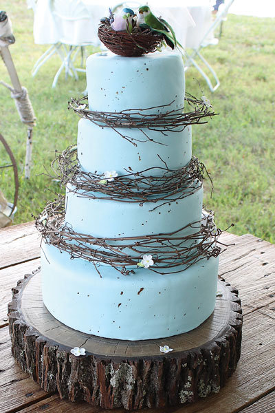 Browse more rustic wedding ideas in our Real Weddings gallery