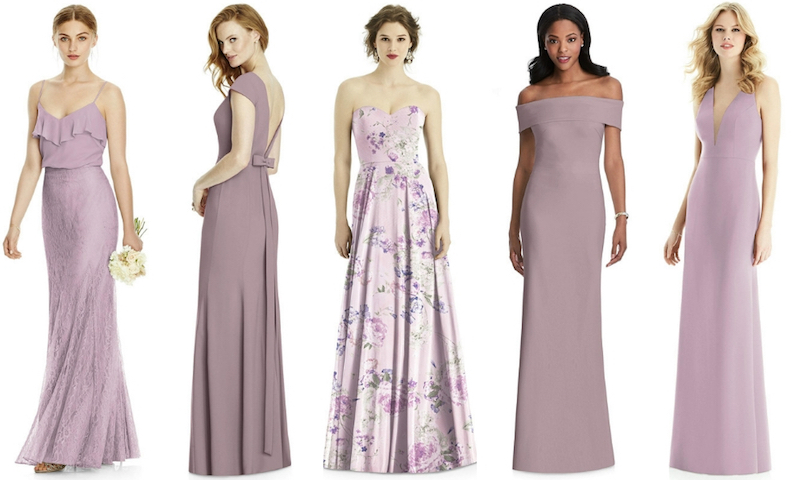 From Left Jy Jenny Yoo Bridesmaid Skirt Jys529 In Suede Rose Studio Design Collection Style 4521 Dusty After Six 1504