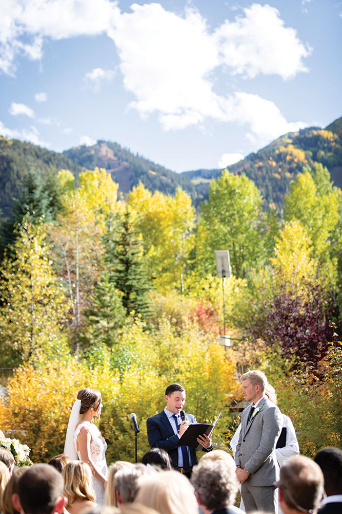 Aspen Colorado real wedding