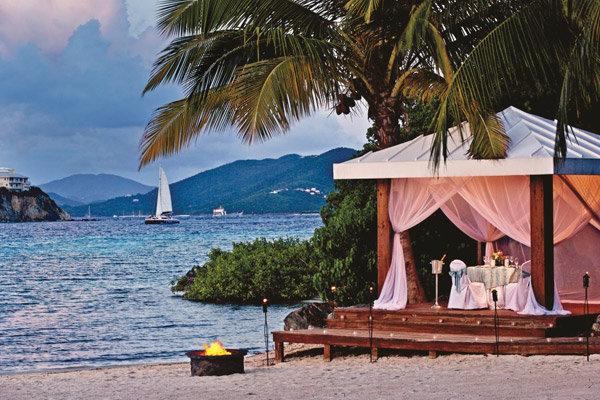 destination wedding hotspot u s virgin islands bridalguide On st thomas destination wedding packages