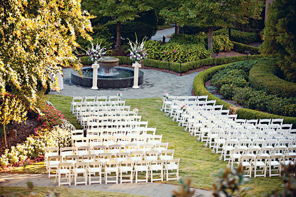 ceremony space at the Intercontinental Buckhead