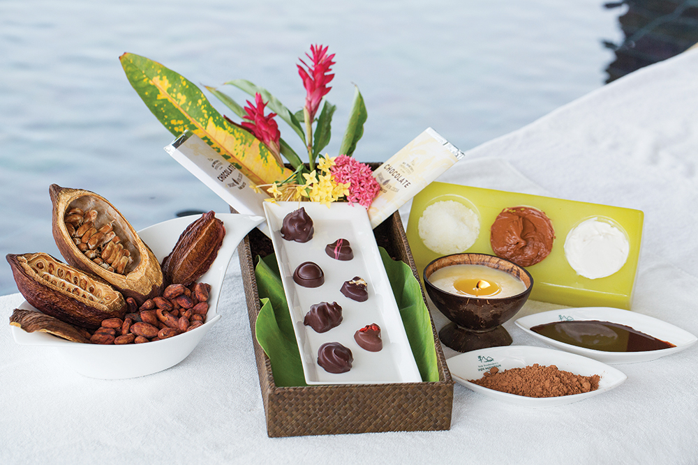 Chocolate spa at Jade Mountain St Lucia