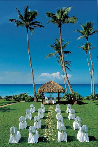 Seaside Ceremony In The Dominican Republic