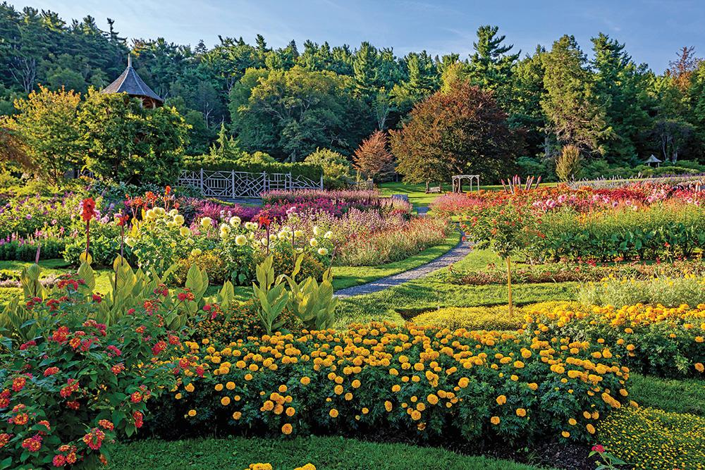 Mohonk Mountain House garden