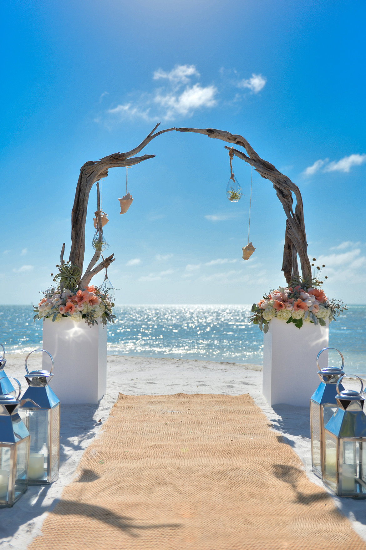 little palm island destination wedding