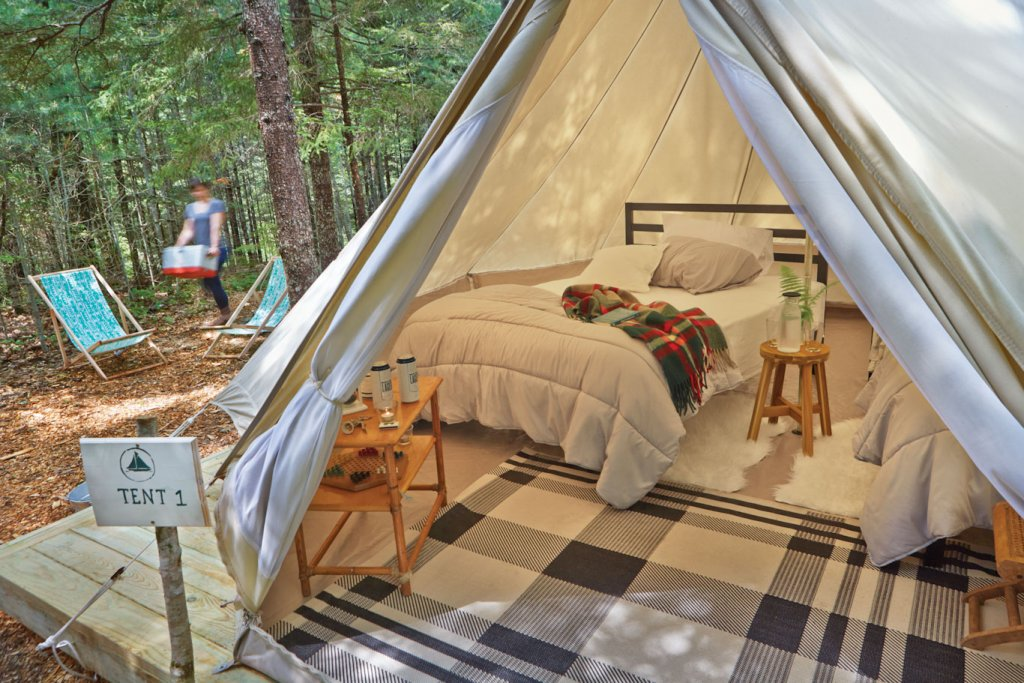 guest tent maine