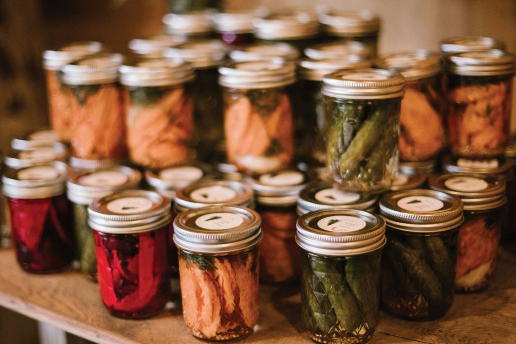 pickled and preserved foods