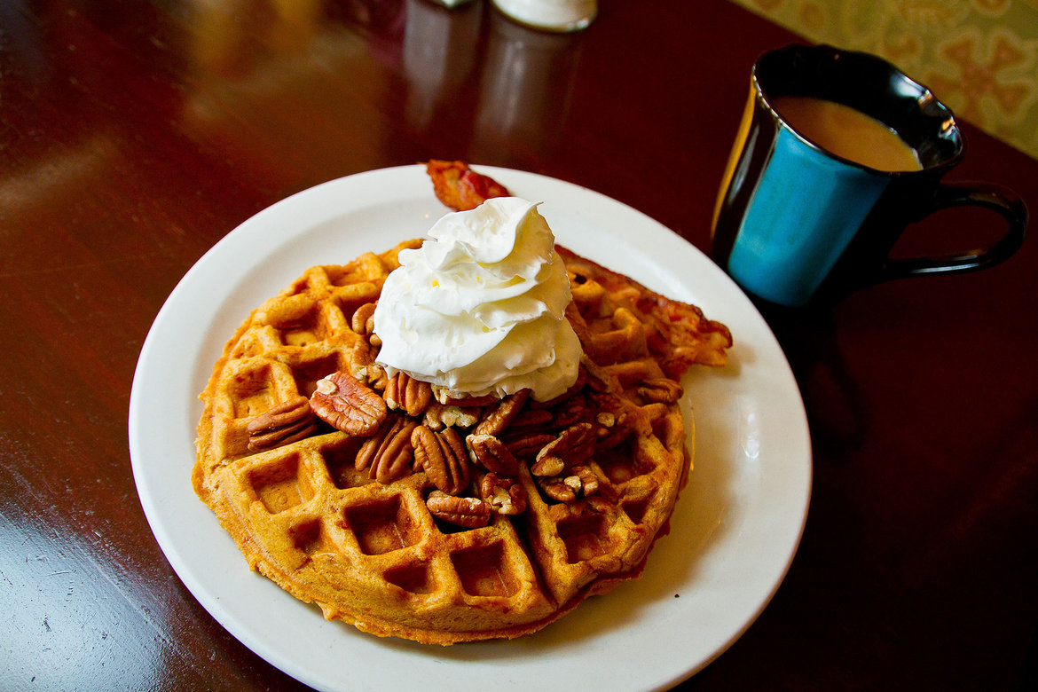 toast coffeehouse waffles