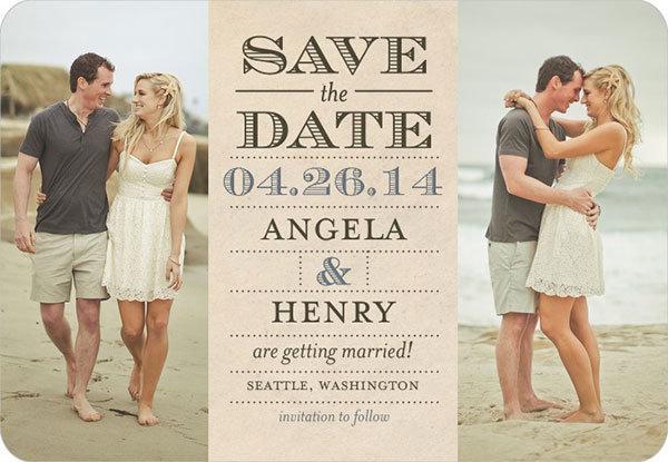 wedding save dates