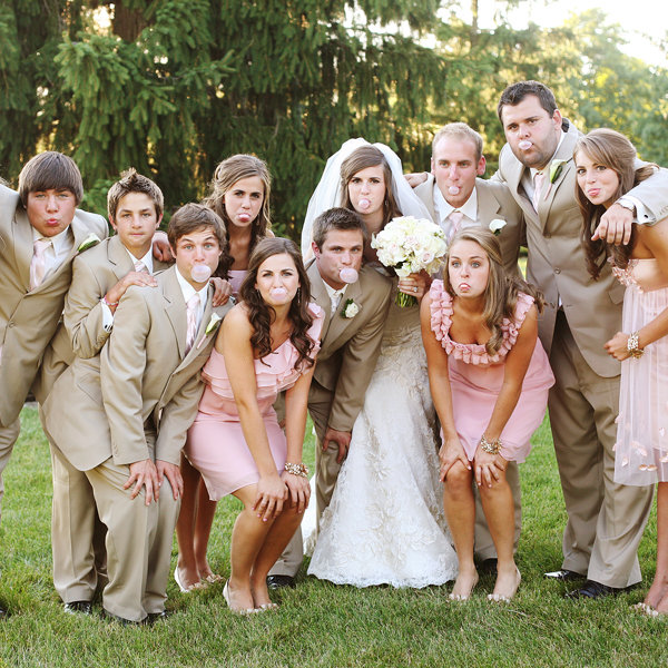 Wedding Family Picture Guide: Bring On The Bridesmaids! BridalGuide