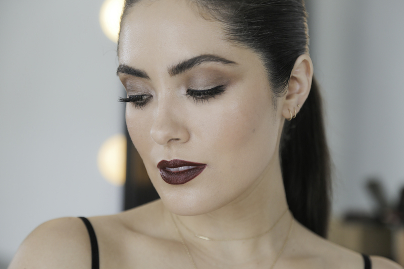 Melissa Alatorre's Soft Eye and Dark Lip