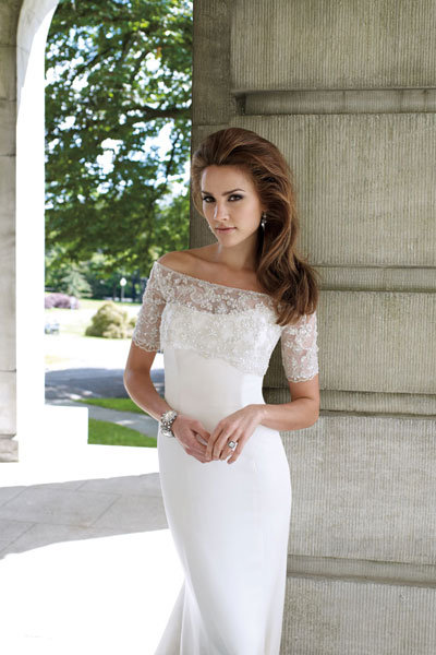 Check out more gorgeous styles in our David Tutera for Mon Cheri gown