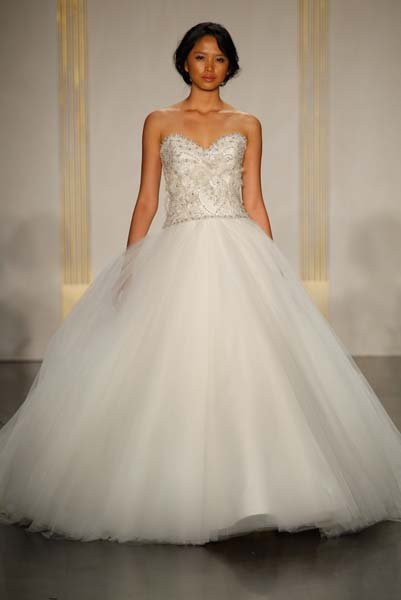 Is always a merry combination around the holidays gown by lazaro