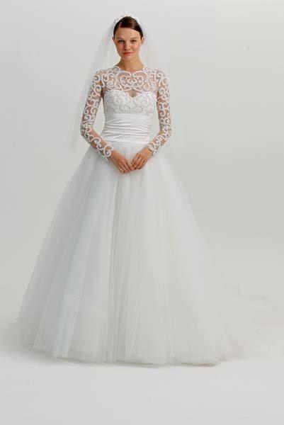 9ae022bae95ef 20 Winter Wedding Dresses We Love BridalGuide