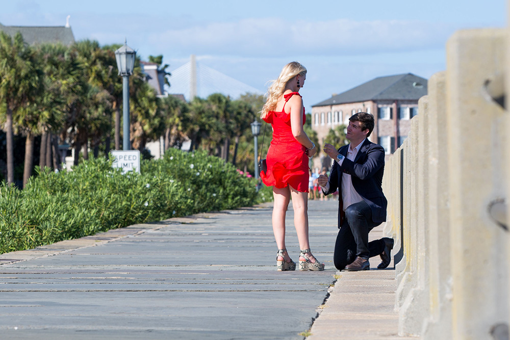 Proposal in Charleston SC