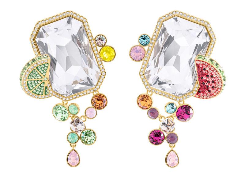 Statement Swarovski Earrings