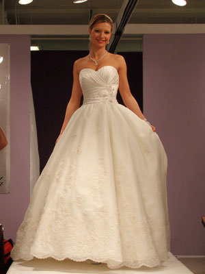 mori lee wedding gown