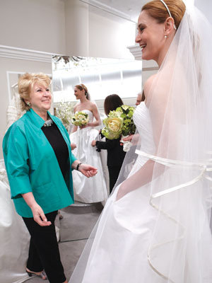 bride at kleinfeld