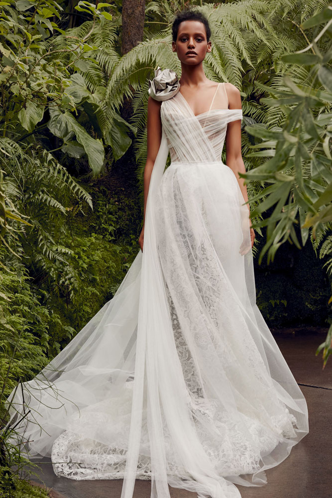 Grecian Inspired Wedding Gown