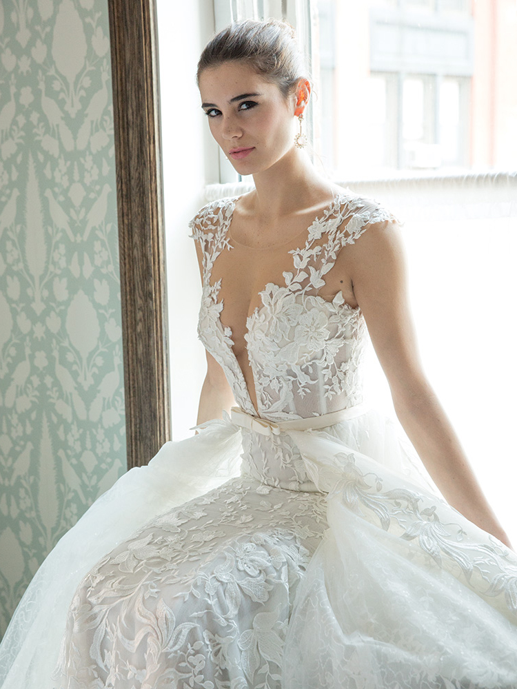 10 Luxe Wedding Gowns with Gorgeous Details BridalGuide