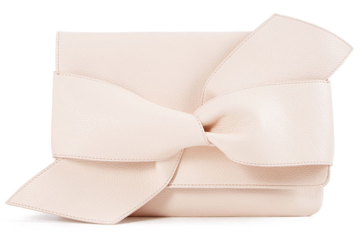 giant knot clutch by shoedazzle