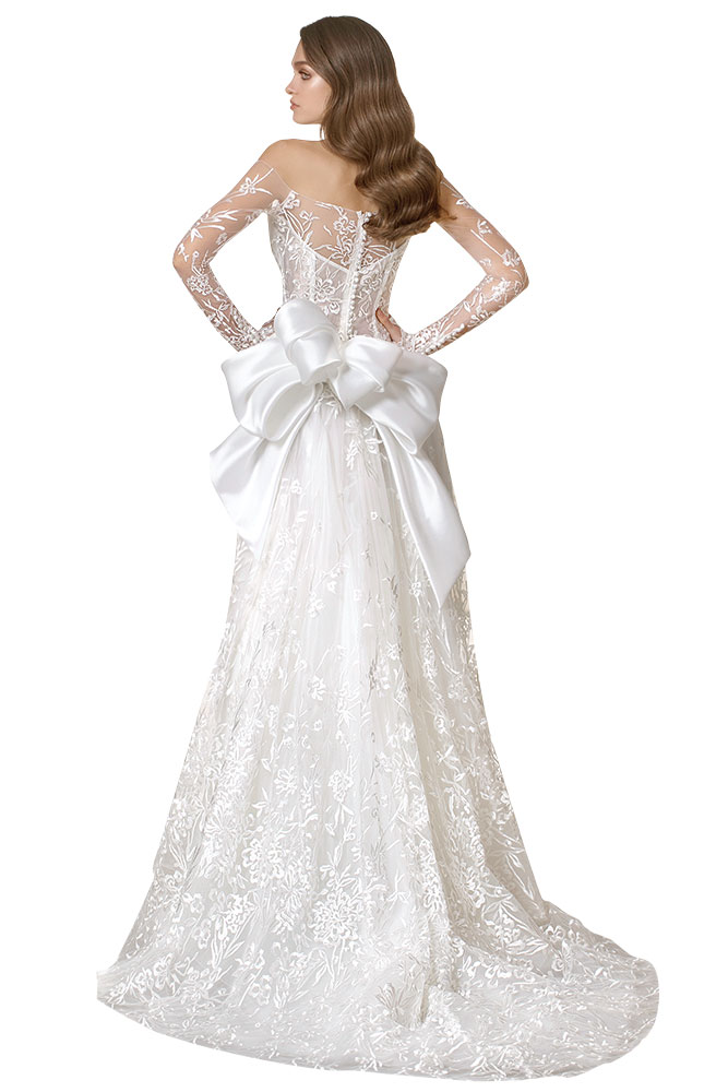 love by pnina tornai wedding gown