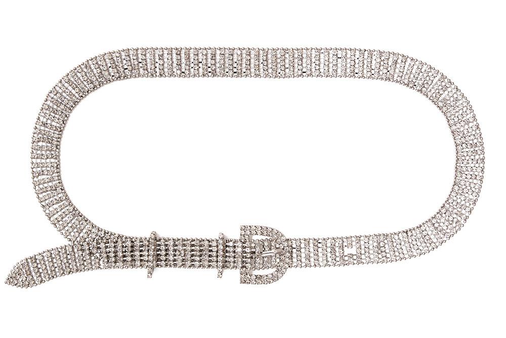 Crystal rhinestone belt