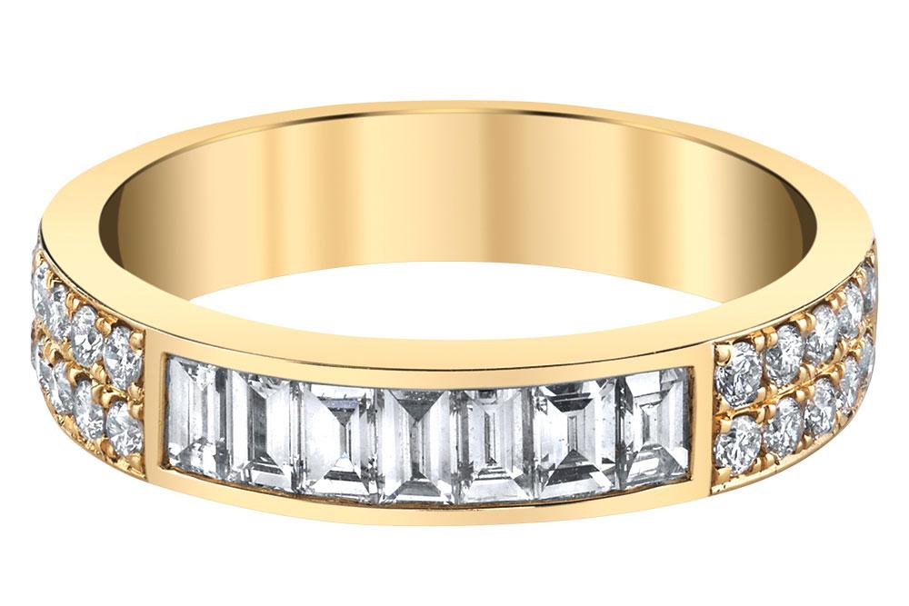 Anita Ko gold wedding ring