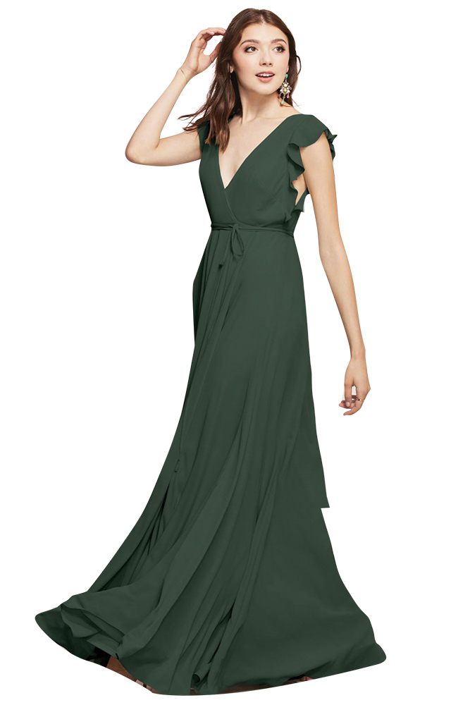 Wtoo Bridesmaids green bridesmaid dress