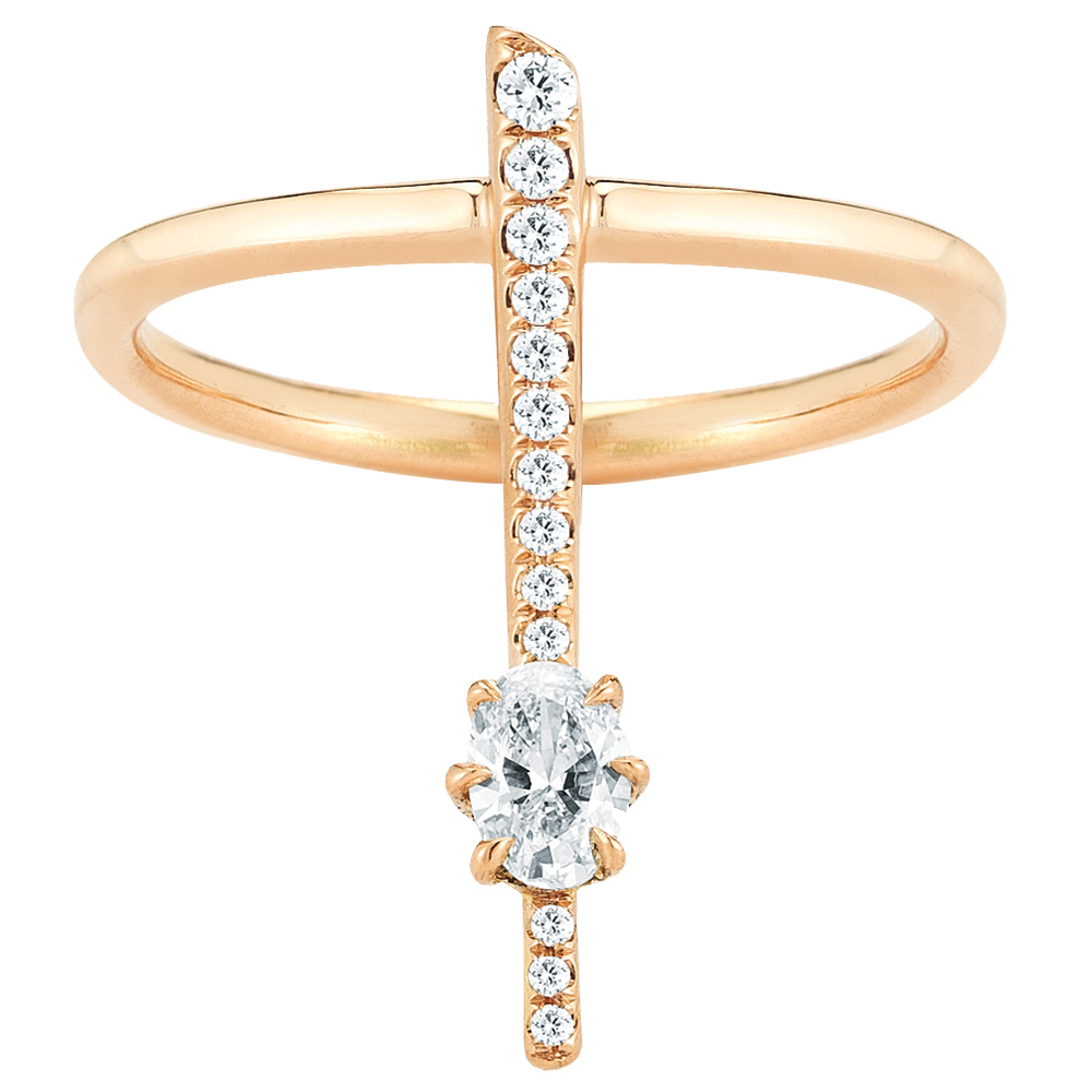 Engagement ring by Forevermark by Jade Trau