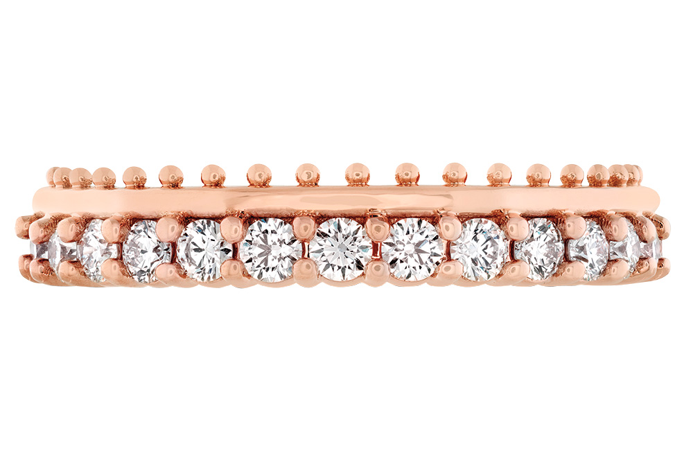 Hayley Paige Hearts on Fire stacked wedding ring