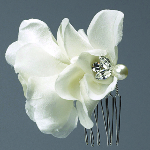 brides head revisited floral haircomb