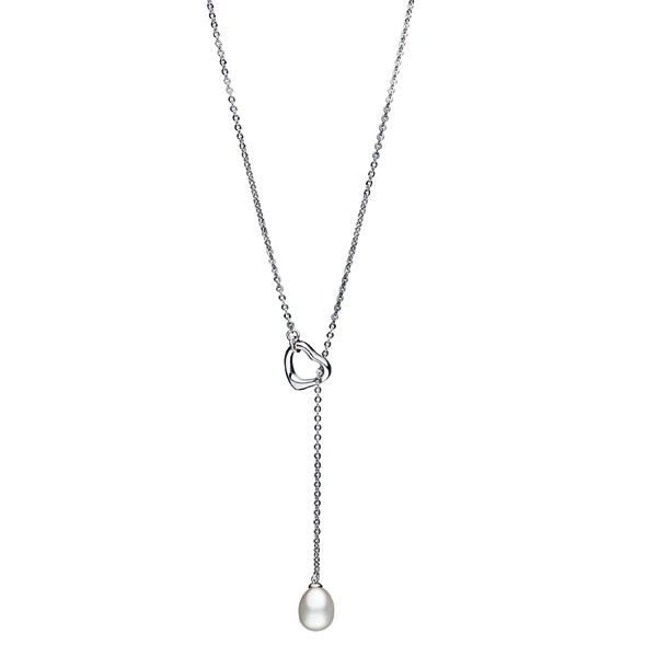 hamilton jewelers pearl lariat necklace