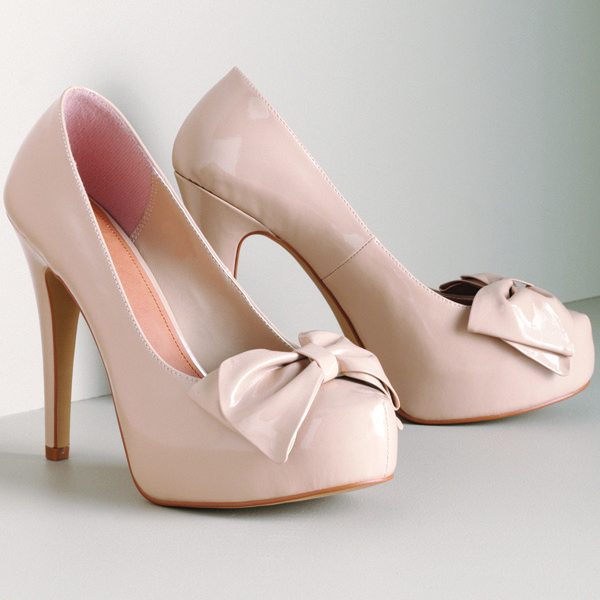elle for kohls nude patent platforms