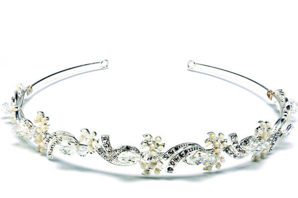tejani pearl and crystal headband