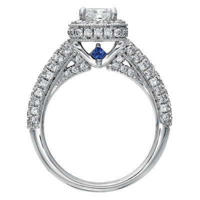 love by vera wang engagement ring saphire