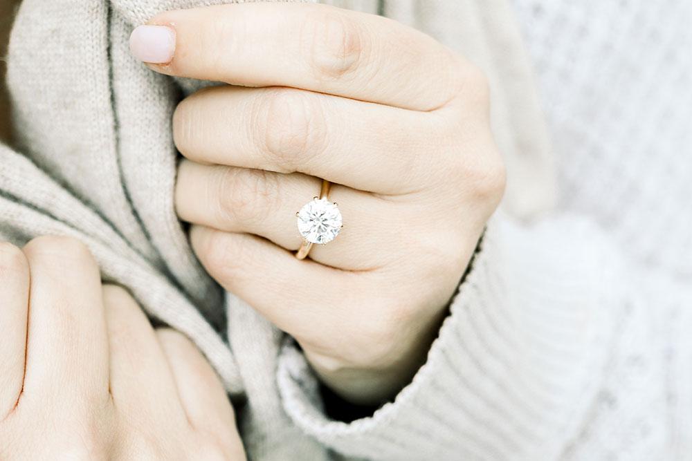 Ada Diamond engagement ring