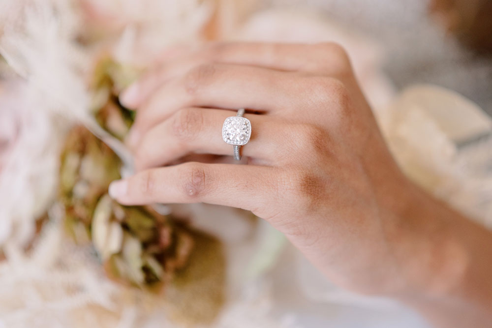 Finer Custom Jewelry engagement ring