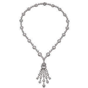 bvlgari diamond necklace