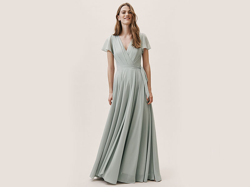 Sea foam Green Bridesmaid Dress