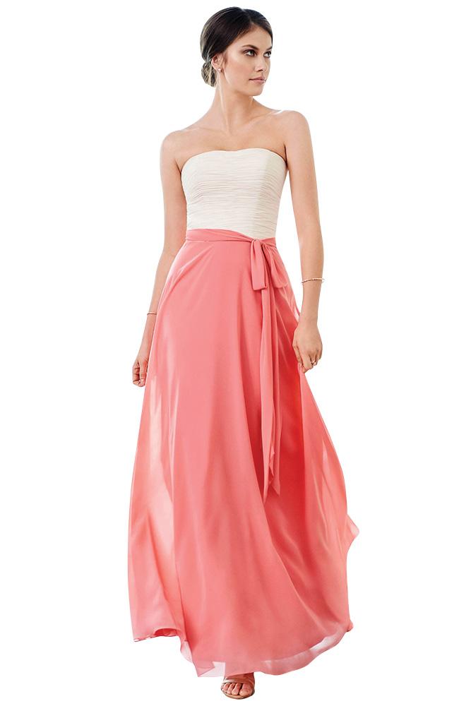 Coral Bridesmaid Dresses Accessories Bridalguide