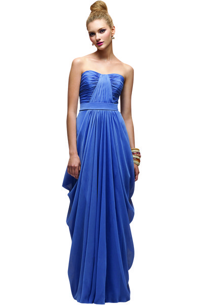 Beautiful Blue Bridesmaid Dresses Bridalguide