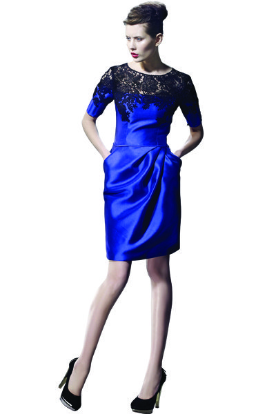 love evening collection blue bridesmaids dress