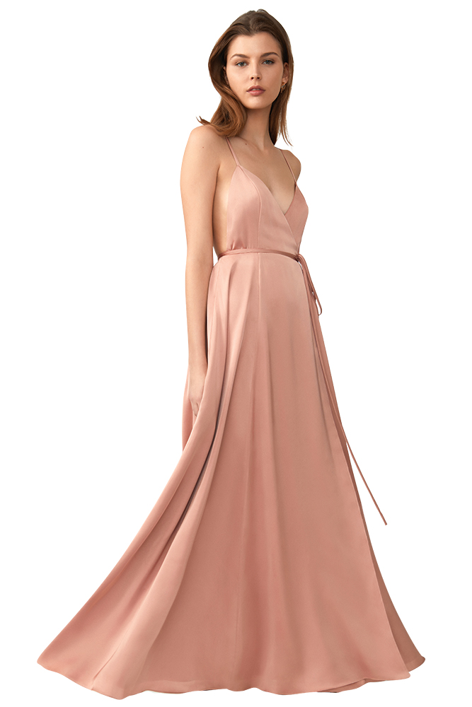 Bridesmaid dress by Fame and Partners