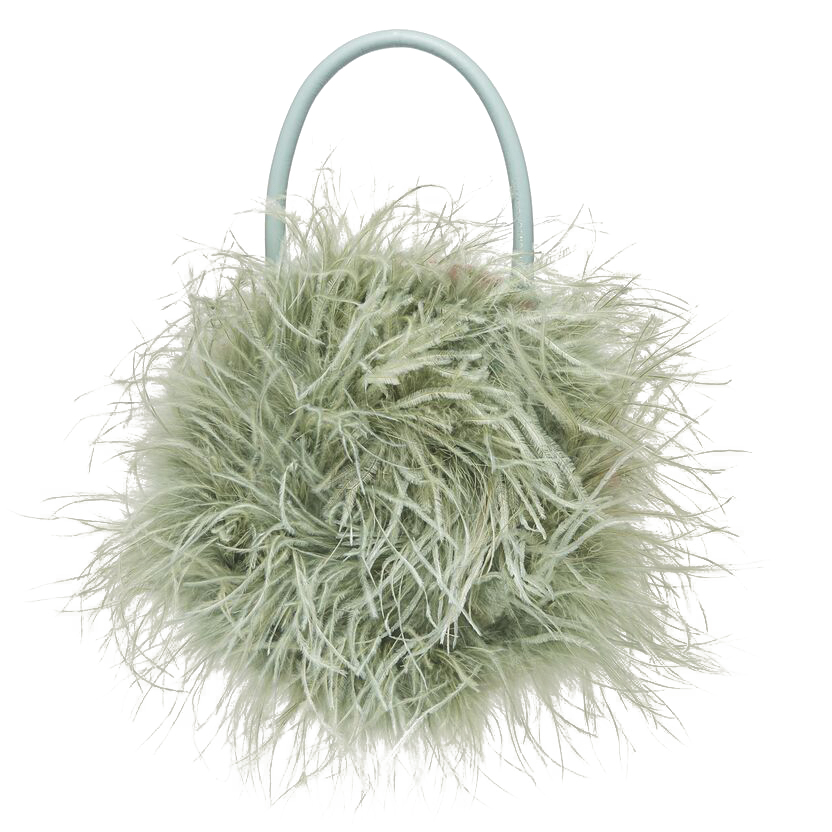 Feather circle tote by Loeffler Randall