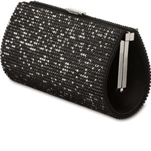 clutchbag with crystals
